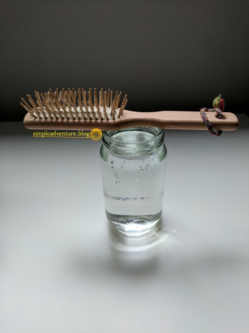 Keeping hair care simple